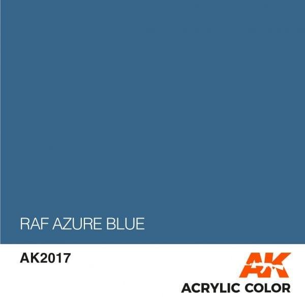 AK2017 RAF AZURE BLUE
