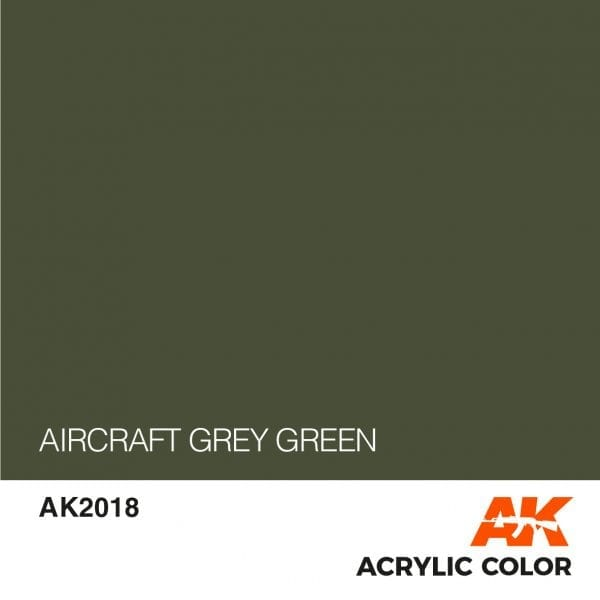 AK2018 AIRCRAFT GREY GREEN
