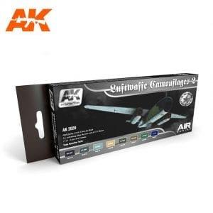 AK2020 acrylic paint set akinteractive modeling