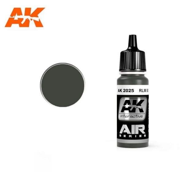 AK2025 acrylic paint air akinteractive modeling