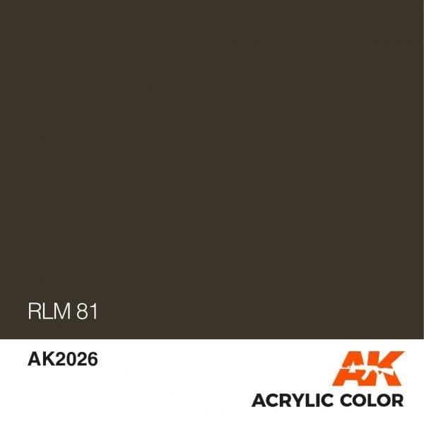 AK2026 RLM 81