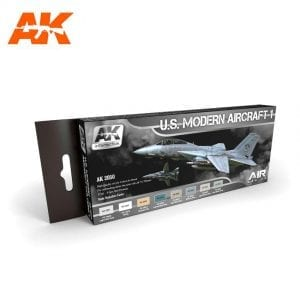 AK2050 acrylic paint set akinteractive modeling