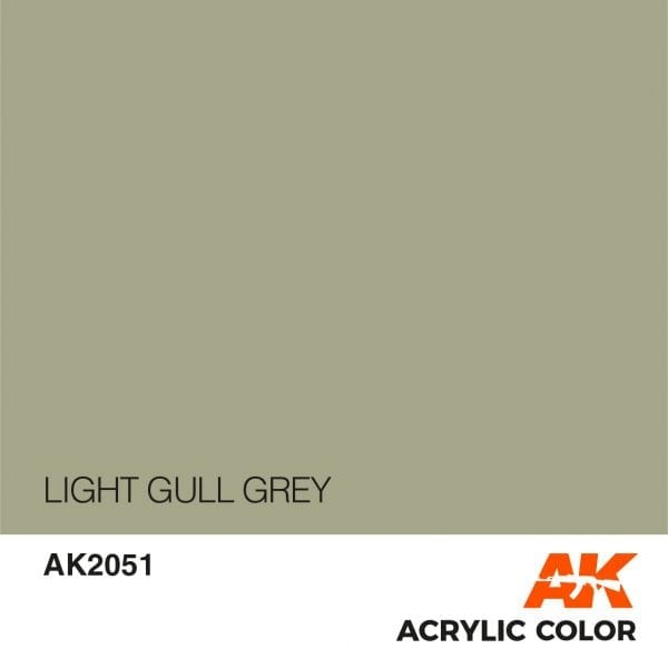 AK2051 LIGHT GULL GREY