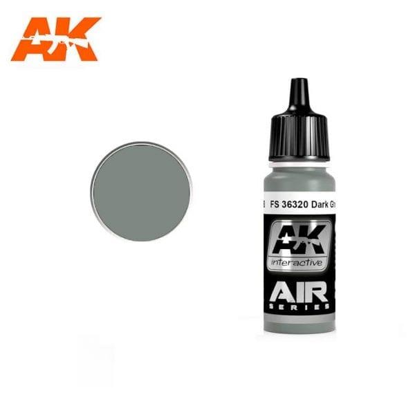 AK2058 acrylic paint air akinteractive modeling