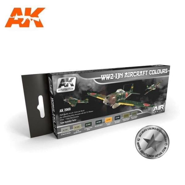 AK2060 acrylic paint set akinteractive modeling