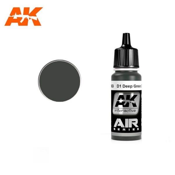 AK2063 acrylic paint air akinteractive modeling