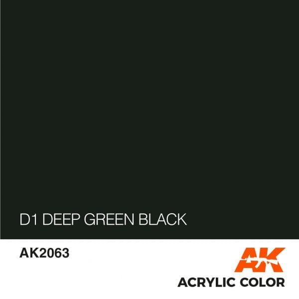 AK2063 D1 DEEP GREEN BLACK