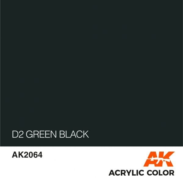 AK2064 D2 GREEN BLACK