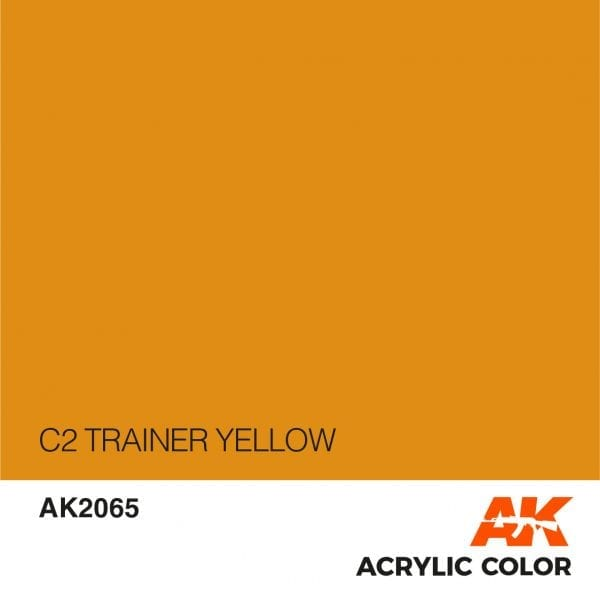 AK2065 C2 TRAINER YELLOW
