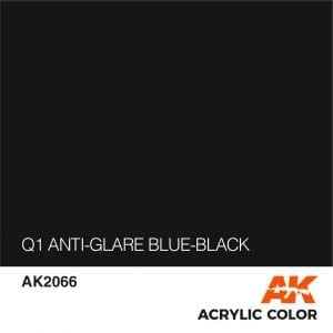 AK2066 Q1 ANTI-GLARE BLUE-BLACK