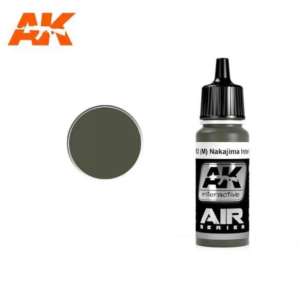 AK2068 acrylic paint air akinteractive modeling