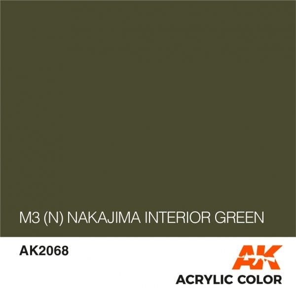 AK2068 M3 (N) NAKAJIMA INTERIOR GREEN