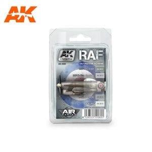 AK2080 acrylic paint set akinteractive modeling