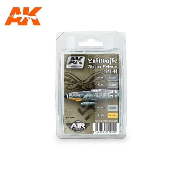 AK2090 acrylic paint set akinteractive modeling