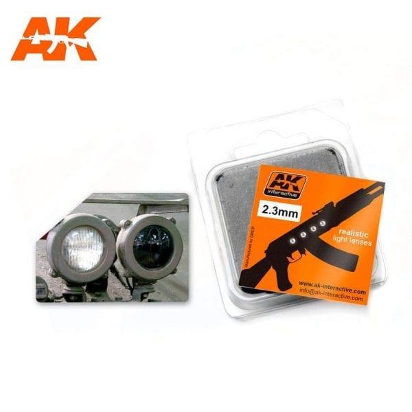 AK209 model accesories lenses akinteractive