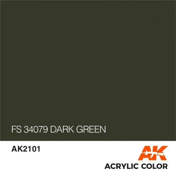 AK2101 FS 34079 DARK GREEN