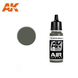 AK2102 acrylic paint air akinteractive modeling