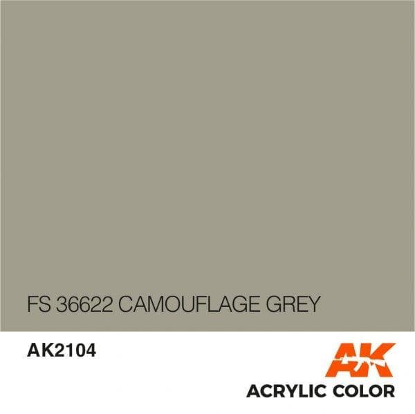 AK2104 FS 36622 CAMOUFLAGE GREY