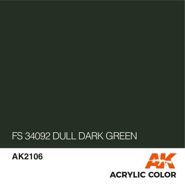 AK2106 FS 34092 DULL DARK GREEN