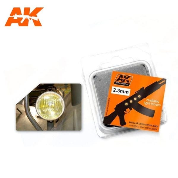 AK211 model accesories lenses akinteractive