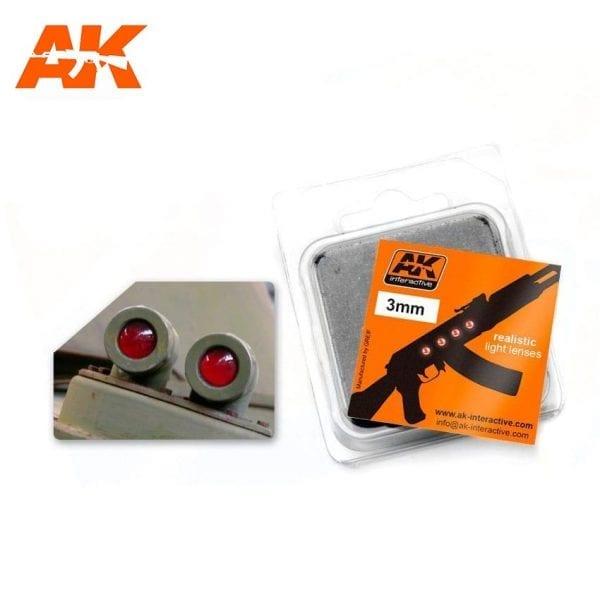 AK213 model accesories lenses akinteractive