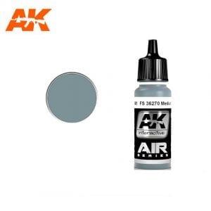 AK2141 acrylic paint air akinteractive modeling