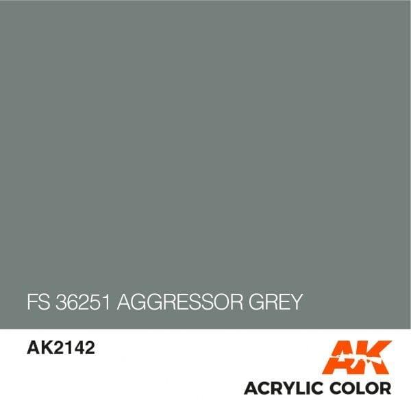 AK2142 FS 36251 AGGRESSOR GREY