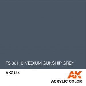 AK2144 FS 36118 MEDIUM GUNSHIP GREY