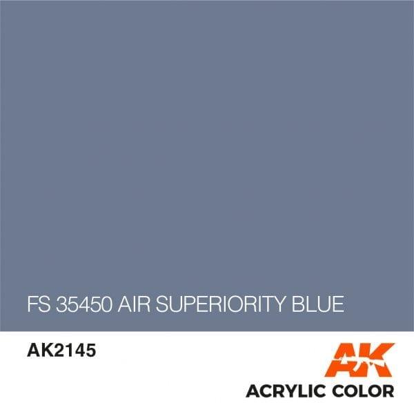 AK2145 FS 35450 AIR SUPERIORITY BLUE