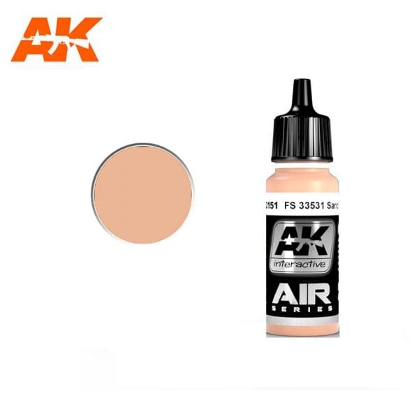 AK2151 acrylic paint air akinteractive modeling
