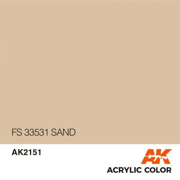 AK2151 FS 33531 SAND