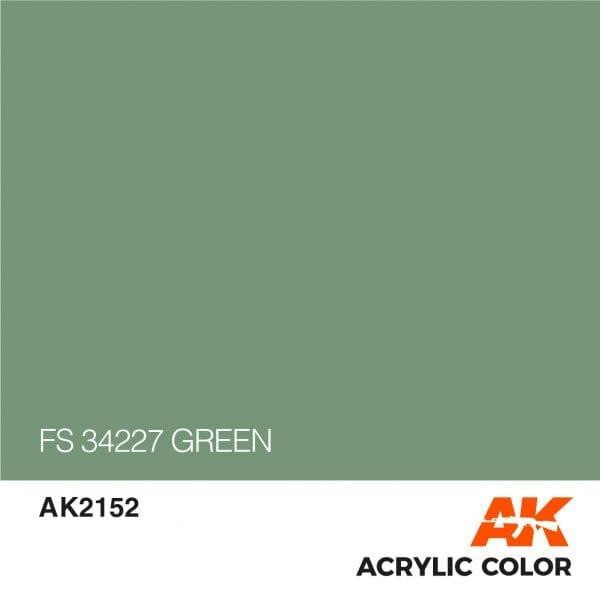 AK2152 FS 34227 GREEN