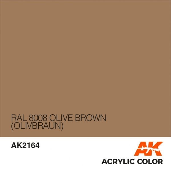 AK2164 RAL 8008 OLIVE BROWN
