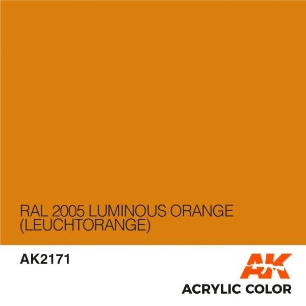 AK2171 RAL 2005 LUMINOUS ORANGE