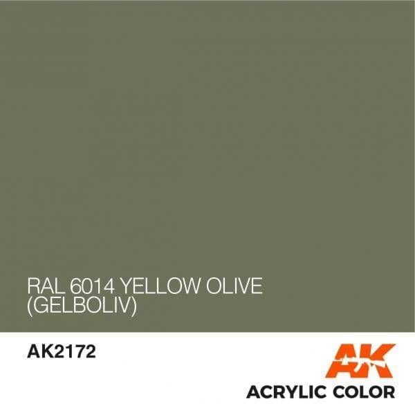 AK2172 RAL 6014 YELLOW OLIVE