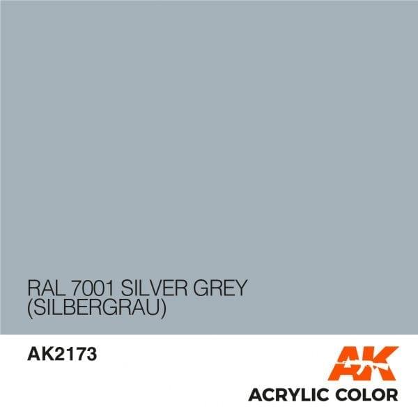 AK2173 RAL 7001 SILVER GREY