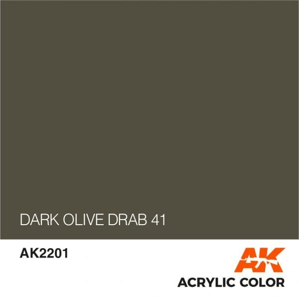 AK2201 DARK OLIVE DRAB 41