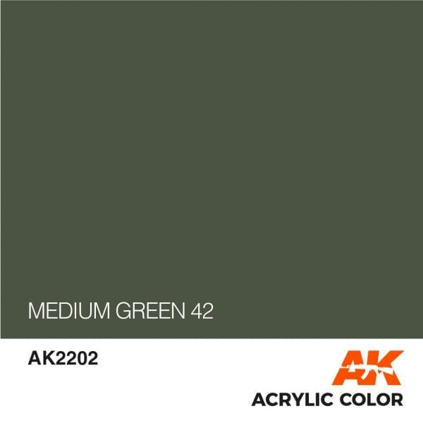 AK2202 MEDIUM GREEN 42