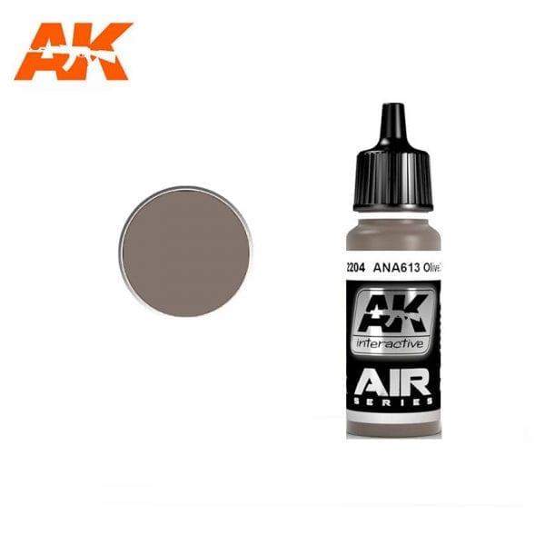 AK2204 acrylic paint air akinteractive modeling