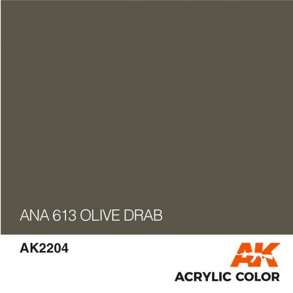 AK2204 ANA 613 OLIVE DRAB
