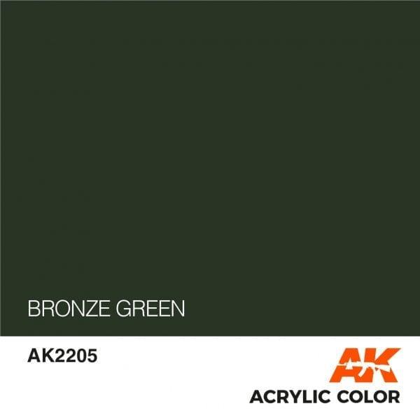 AK2205 BRONZE GREEN