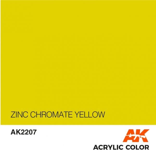 AK2207 ZINC CHROMATE YELLOW