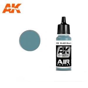 AK2232 acrylic paint air akinteractive modeling