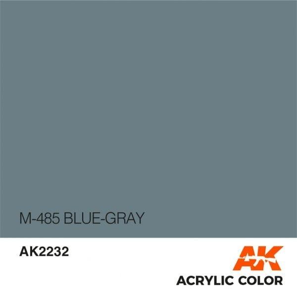 AK2232 M-485 BLUE-GRAY