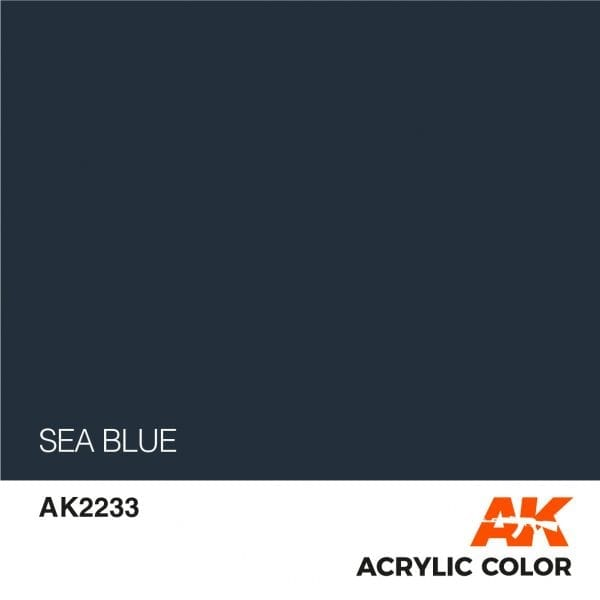 AK2233 SEA BLUE