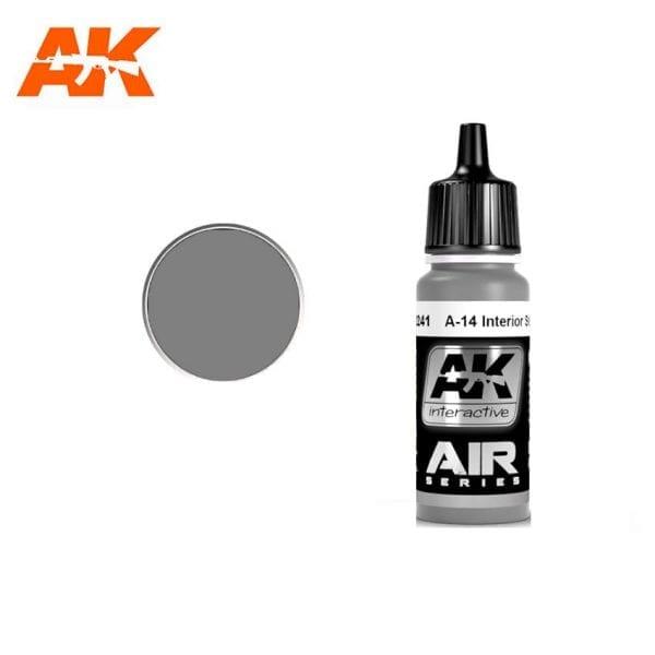 AK2241 acrylic paint air akinteractive modeling