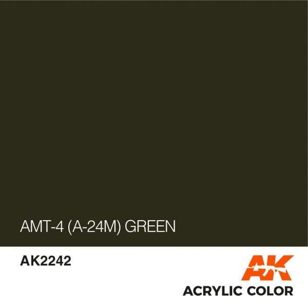 AK2242 AMT-4 (A-24M) GREEN