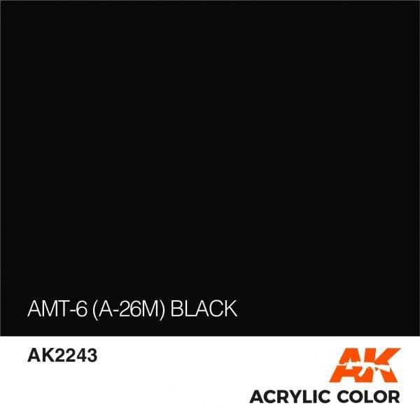AK2243 AMT-6 (A-26M) BLACK