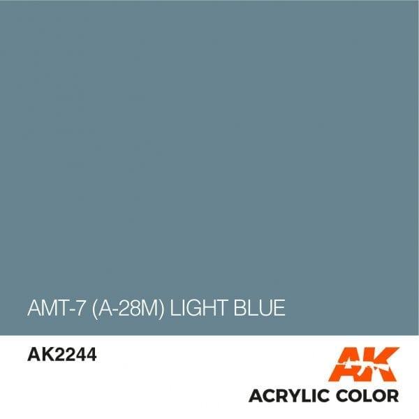 AK2244 AMT-7 (A-28M) LIGHT BLUE