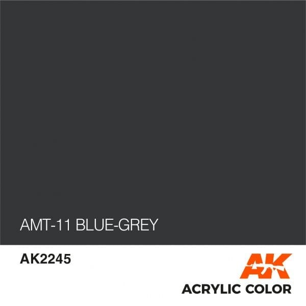 AK2245 AMT-11 BLUE-GREY